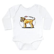 Wheaten Terrier Lover Onesie Romper Suit