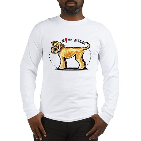 Wheaten Terrier Lover Long Sleeve T-Shirt