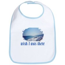 Beach/Ocean Wish I Was There Bib