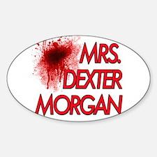 Mrs. Dexter Morgan Sticker (Oval)