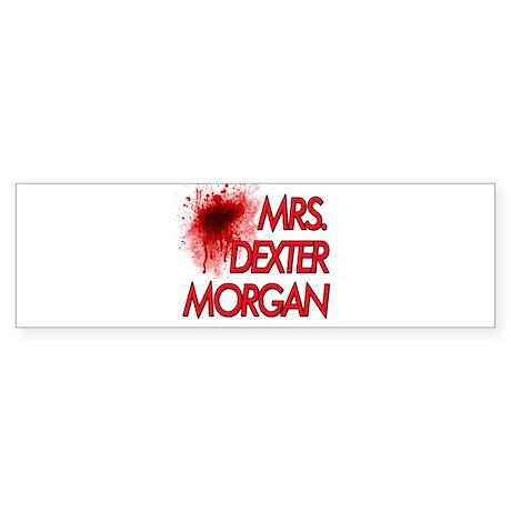 Mrs. Dexter Morgan Sticker (Bumper)