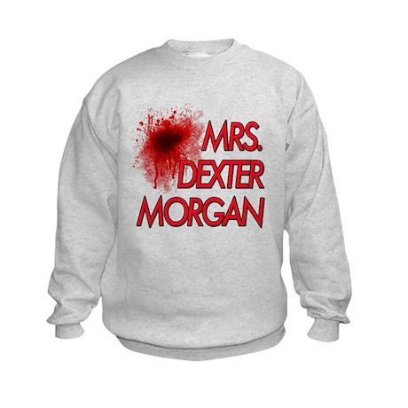 Mrs. Dexter Morgan Kids Sweatshirt