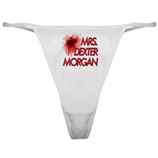 Mrs. Dexter Morgan Classic Thong