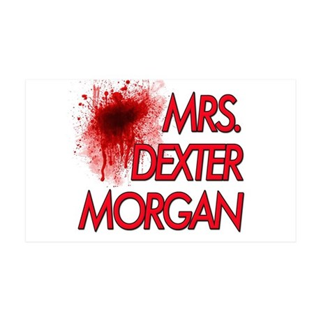Mrs. Dexter Morgan 38.5 x 24.5 Wall Peel