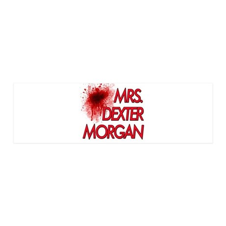 Mrs. Dexter Morgan 21x7 Wall Peel
