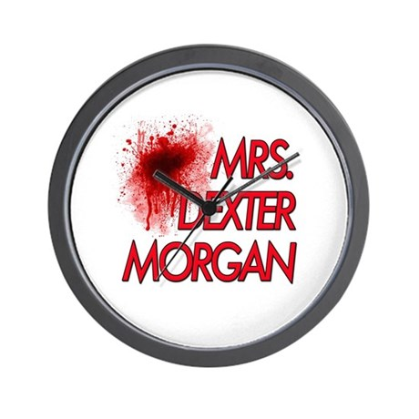 Mrs. Dexter Morgan Wall Clock