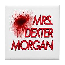 Mrs. Dexter Morgan Tile Coaster