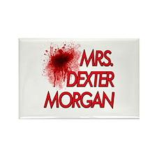 Mrs. Dexter Morgan Rectangle Magnet