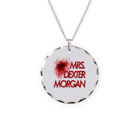 Mrs. Dexter Morgan Necklace Circle Charm