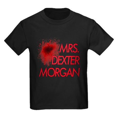 Mrs. Dexter Morgan Kids Dark T-Shirt