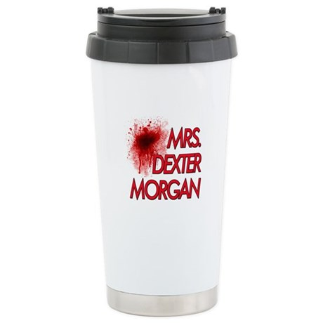 Mrs. Dexter Morgan Stainless Steel Travel Mug
