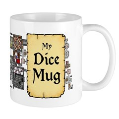 My Dice Mug - dungeon map