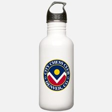 City Chess Club of Denver Water Bottle