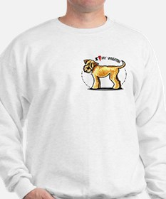 Wheaten Terrier Lover Pocket Sweatshirt