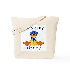 I love my daddy (boy ducky) Tote Bag