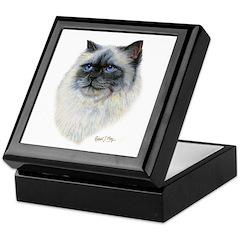 Birman Cat Keepsake Box