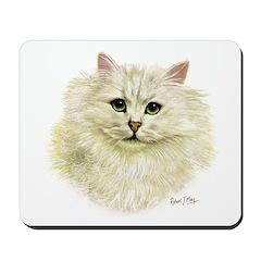 Chinchilla Persian Cat Mousepad