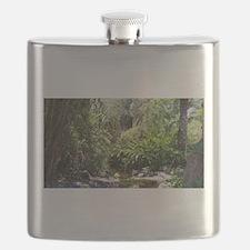 Swamp Jungle Flask