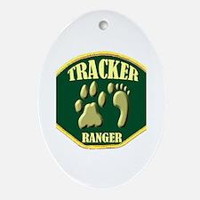 Tracker Ranger Ornament (Oval)