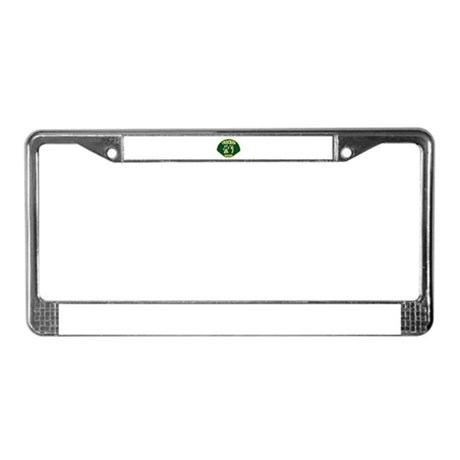 Tracker Ranger License Plate Frame