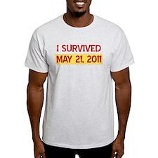 I Survived May 21, 2011 T-Shirt