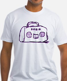Shirt with boom box