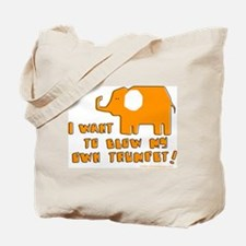 I Want to Trumpet! Tote Bag