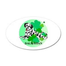 Dalmatian 22x14 Oval Wall Peel