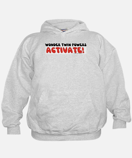 Wonder Twin Text Hoody