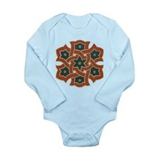 Star Flower Long Sleeve Infant Bodysuit