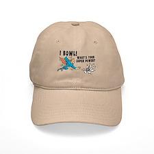 Funny I Bowl Baseball Cap