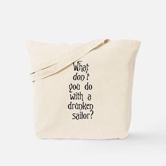Cute Sailor Tote Bag