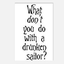 Unique Sailor Postcards (Package of 8)