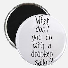 Unique Pirate humor Magnet