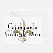 Cajan par la Grace Greeting Card