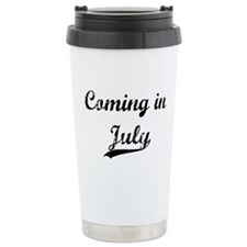 Coming in July Travel Mug