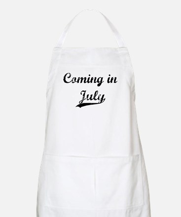 Coming in July Apron