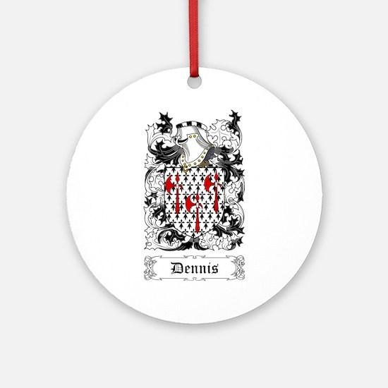 Dennis Ornament (Round)