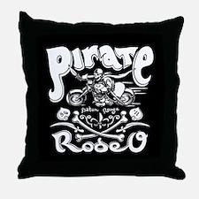 Music Pirate Throw Pillow