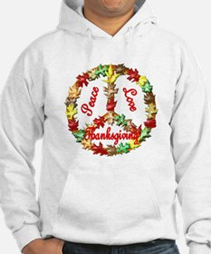 Thanksgiving Peace Sign Hoodie