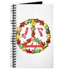 Thanksgiving Peace Sign Journal