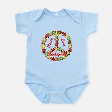 Thanksgiving Peace Sign Infant Bodysuit