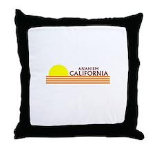 Cute Anaheim Throw Pillow