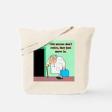 old nurses Tote Bag