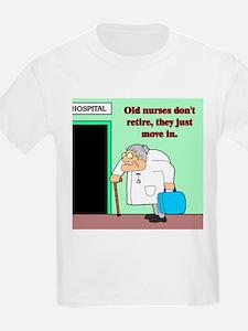 old nurses Kids T-Shirt