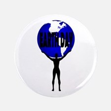 "Earth Day Support 3.5"" Button (100 pack)"
