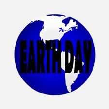 "Earth Day 3.5"" Button (100 pack)"