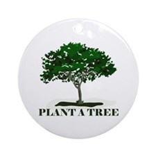 Plant a Tree Ornament (Round)