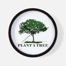 Plant a Tree Wall Clock