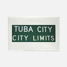 Rectangle Tuba City City Limits Magnet (10 pack)